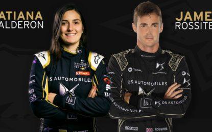 DS: Calderon e Rossiter al rookie test di Marrakesh