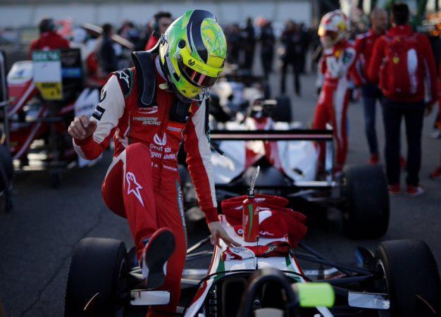 Mick Schumacher nella Ferrari Driver Academy