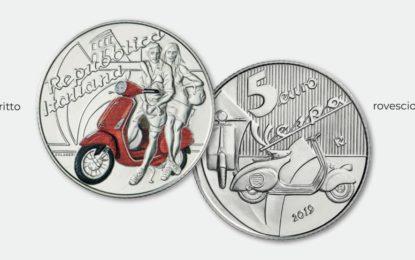 Vespa diventa una moneta