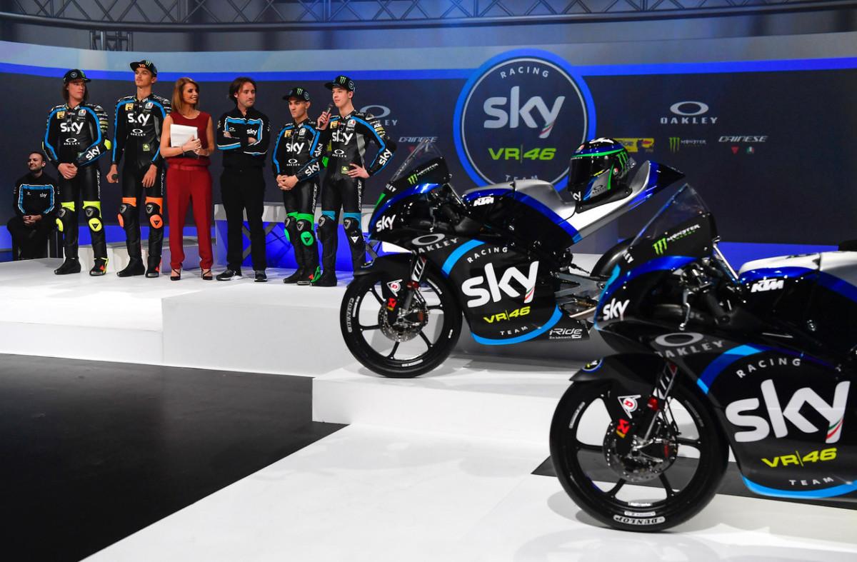 Dainese e AGV partner Sky Racing Team VR46