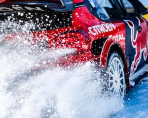 La C3 WRC pronte per il Rally di Svezia