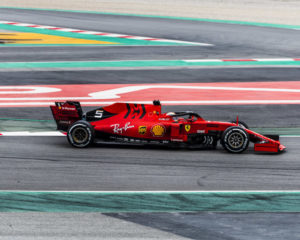 Vettel conclude il primo test con altri 134 giri