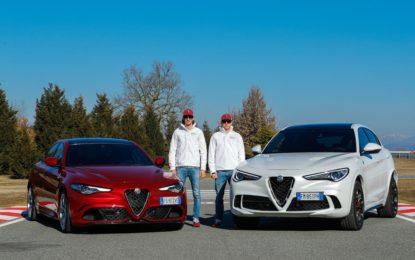 Raikkonen e Giovinazzi alla scoperta del mondo Alfa Romeo