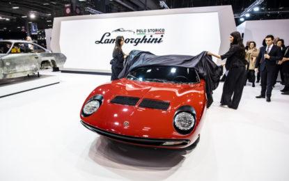 Lamborghini Polo Storico restaura la Miura SV di Jean Todt