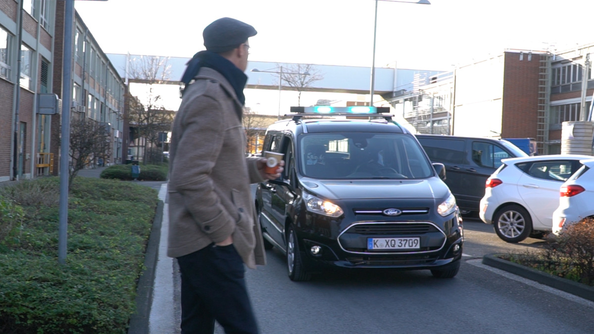 Ford Human Car Seat per la guida autonoma