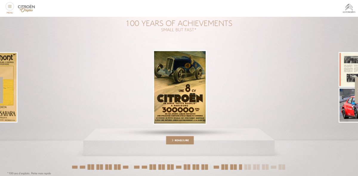 Il museo virtuale Citroën Origins si rinnova