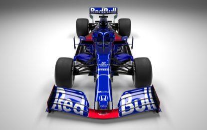 La Scuderia Toro Rosso presenta la STR14
