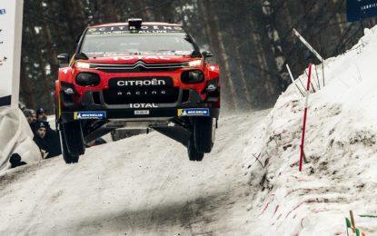 Svezia: la C3 WRC sul secondo gradino con Lappi-Ferm