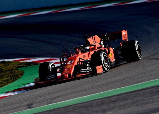 169 giri e miglior tempo per Vettel nel primo giorno di test