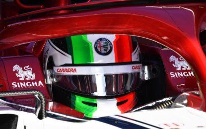 Il casco di Giovinazzi? Italians do it better