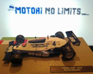 Tyrrell 008: la prima F1 Fan Car!