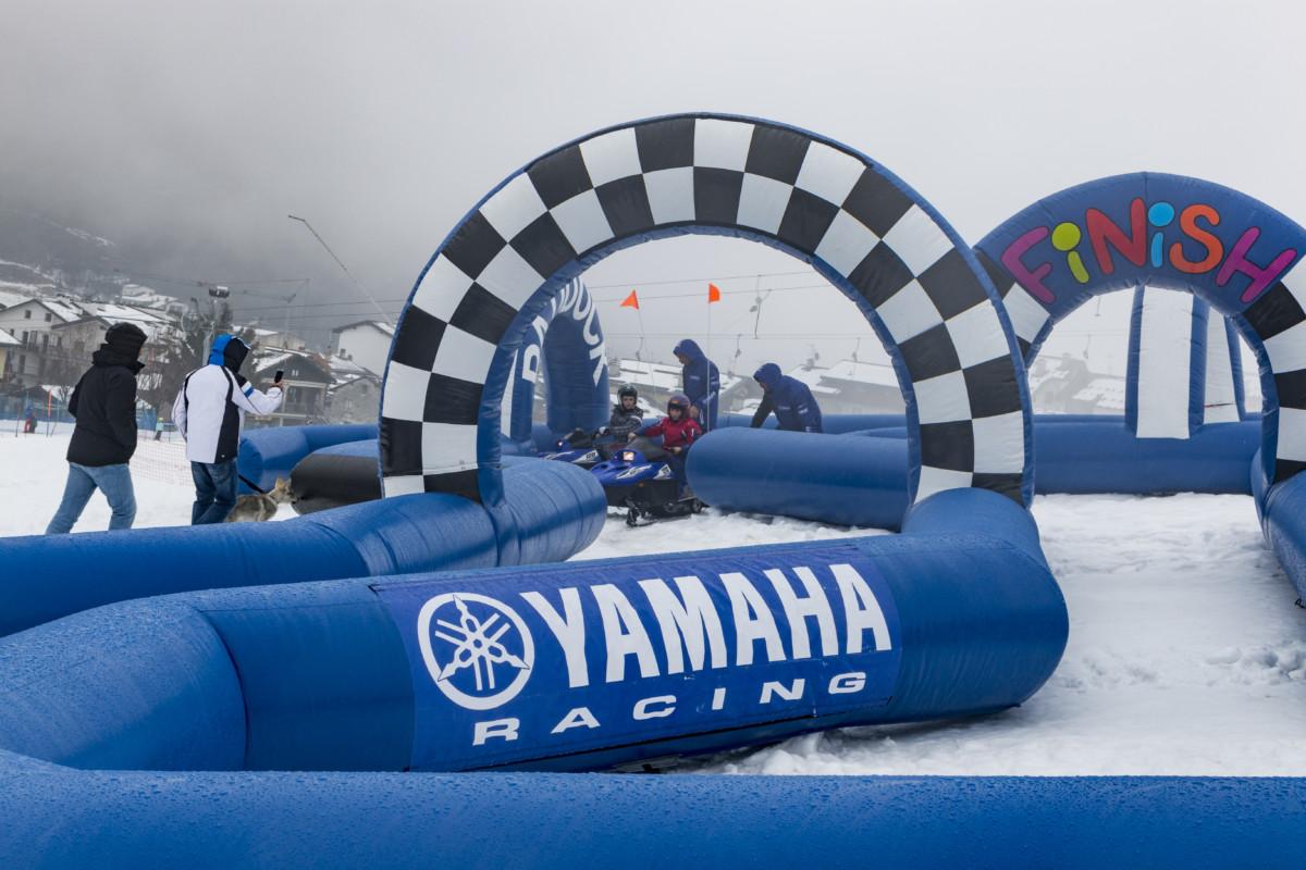 Snow Kids Yamaha: si parte da Courmayeur
