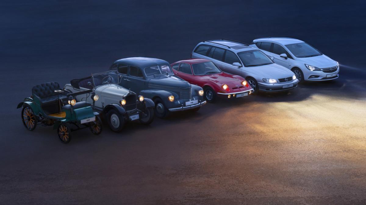Opel: da 120 anni la migliore visibilità