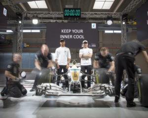 Petronas e i Campioni Mercedes presentano i nuovi lubrificanti