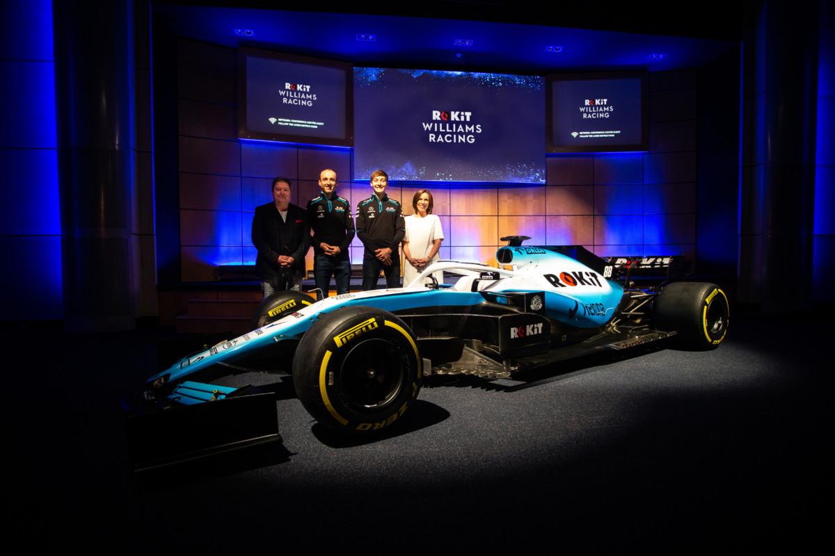 La Williams presenta lo sponsor. Macchina e piloti un optional