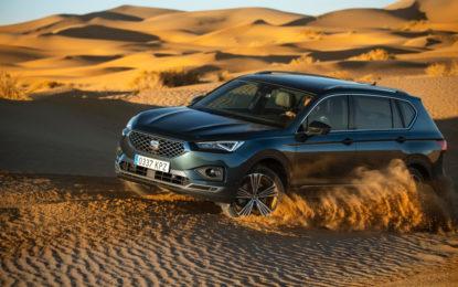 SEAT Tarraco 4Drive nel deserto del Marocco