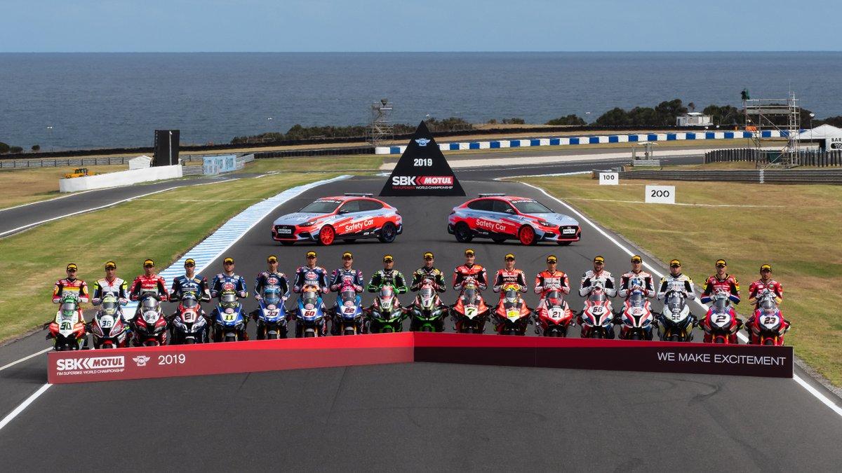 Al via in Australia il Mondiale Superbike 2019: gli orari TV
