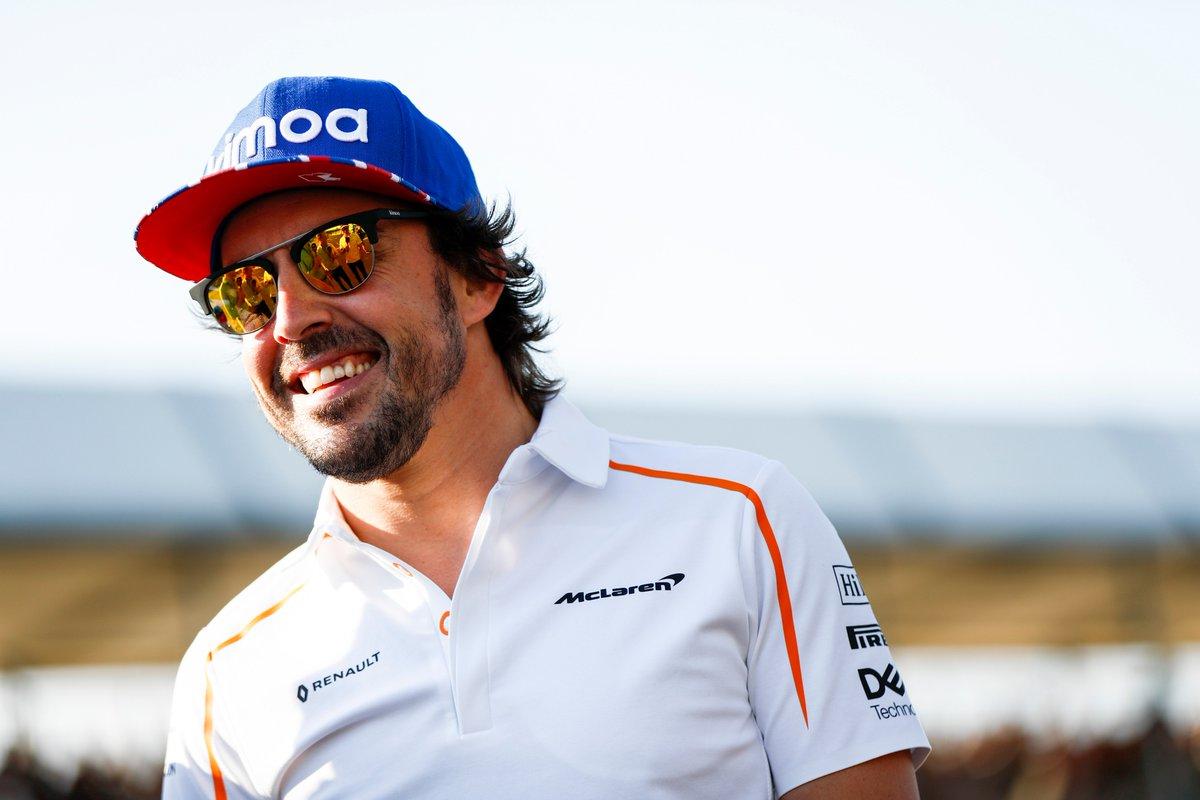 Fernando Alonso McLaren Racing ambassador