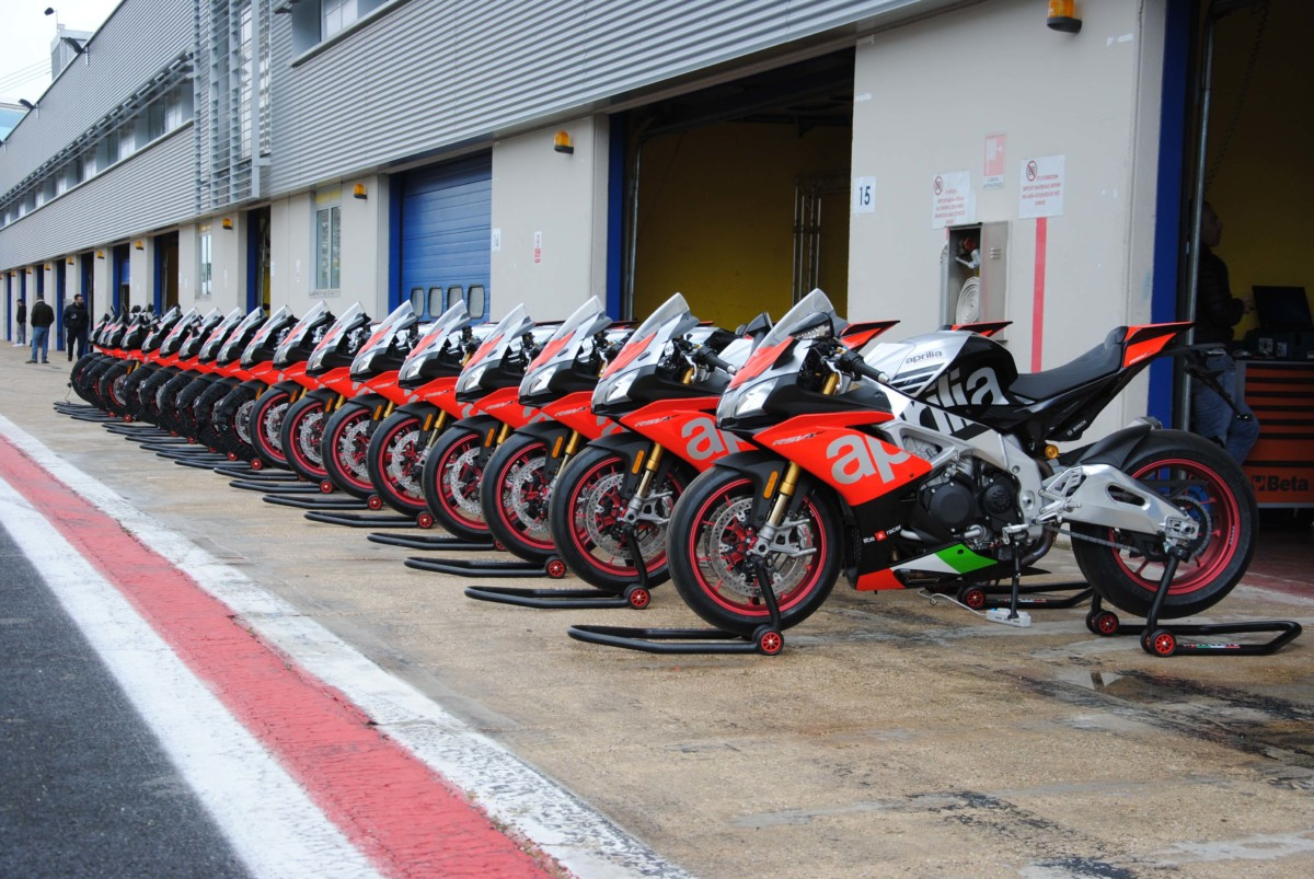 Tornano gli Aprilia Racers Days