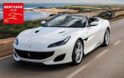 Alla Ferrari Portofino il Best Cabrio Award