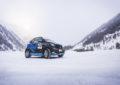 smart EQ fortwo e-cup: test su neve e ghiaccio