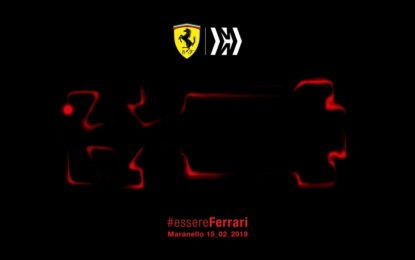 Venerdì 15 febbraio: dalle 10.45 presentazione Ferrari