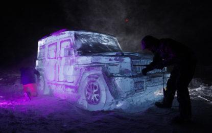 #StrongerThanIce: una Classe G scolpita nel ghiaccio