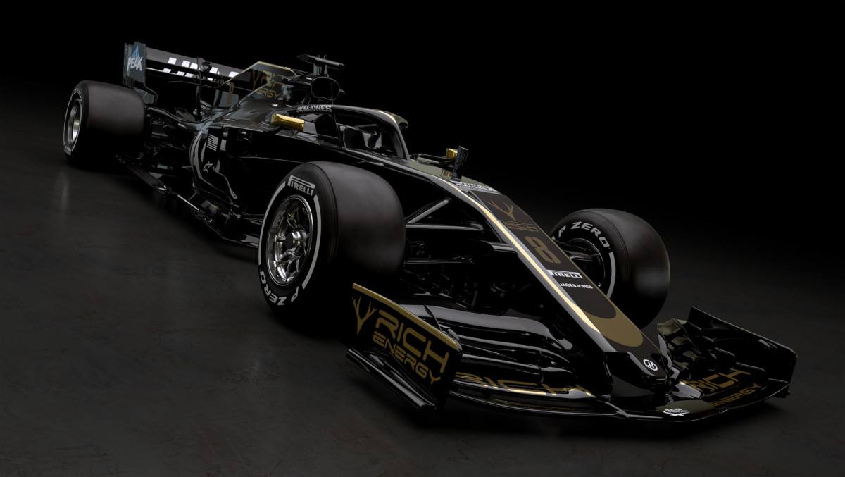 Rich Energy Haas F1 Team 2019: torna il nero e oro