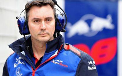 Accordo Toro Rosso-McLaren su James Key