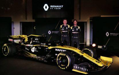 Renault F1 Team: ecco la R.S.19 di Hulkenberg e Ricciardo