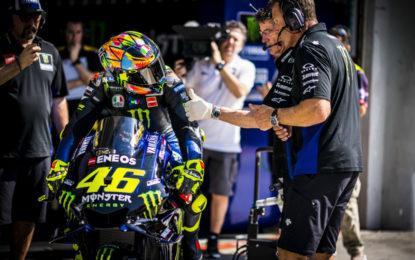 Viñales e Rossi 3° e 6° nel primo giorno di test a Sepang