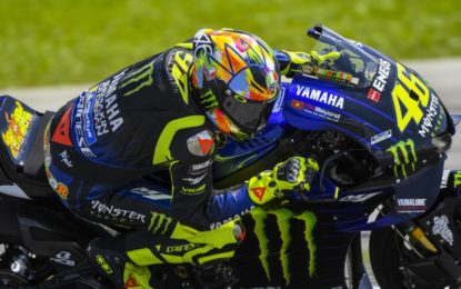 AGV e Rossi presentano Pista GP R Winter Test 2019