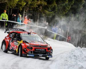 Rally di Svezia finito per Ogier e la sua C3 WRC