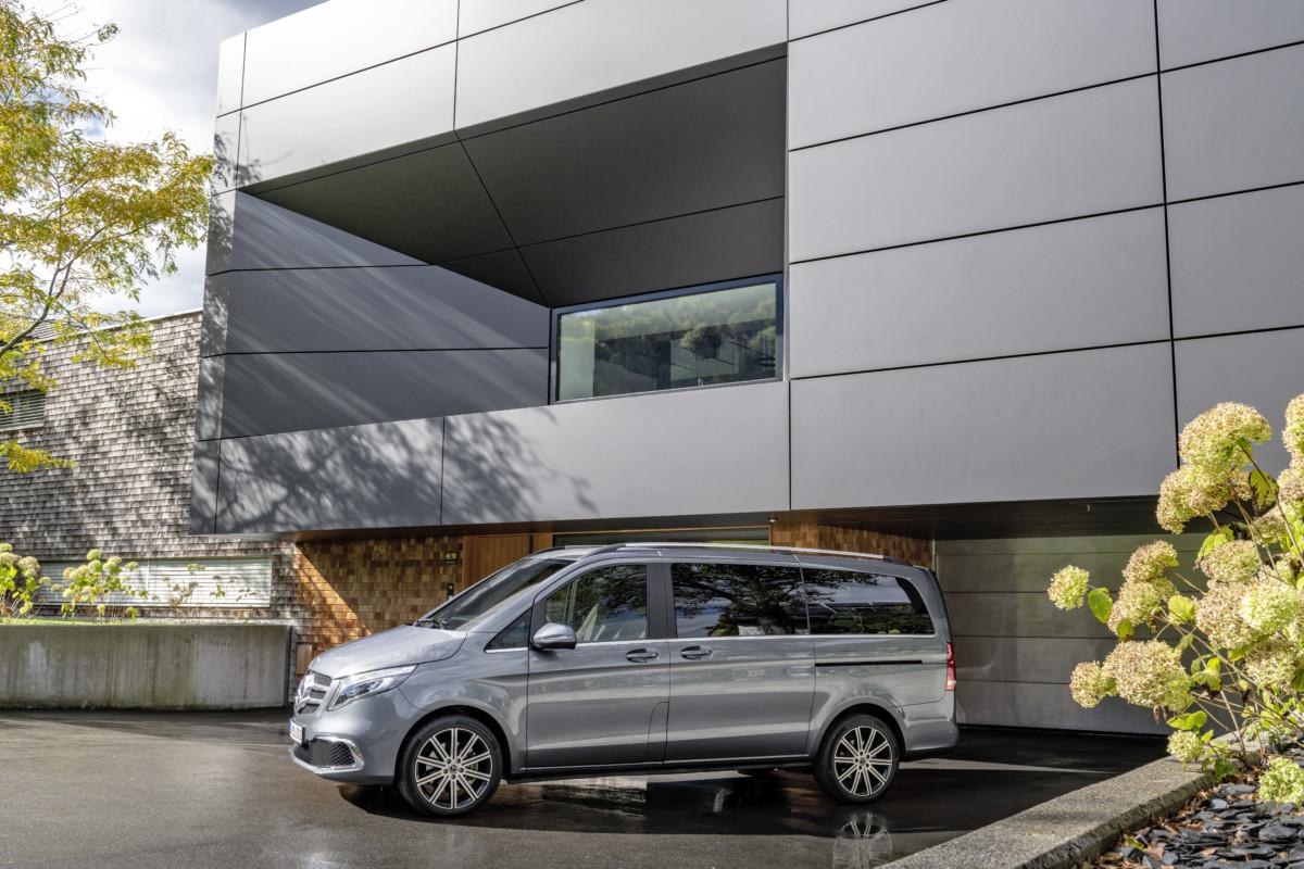 Al via gli ordini della nuova Mercedes-Benz Classe V