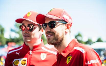Vettel e Leclerc: un po' nervosi ma pronti