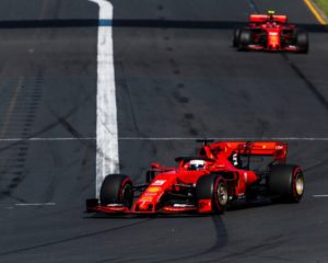 Podio impossibile per la Ferrari a Melbourne