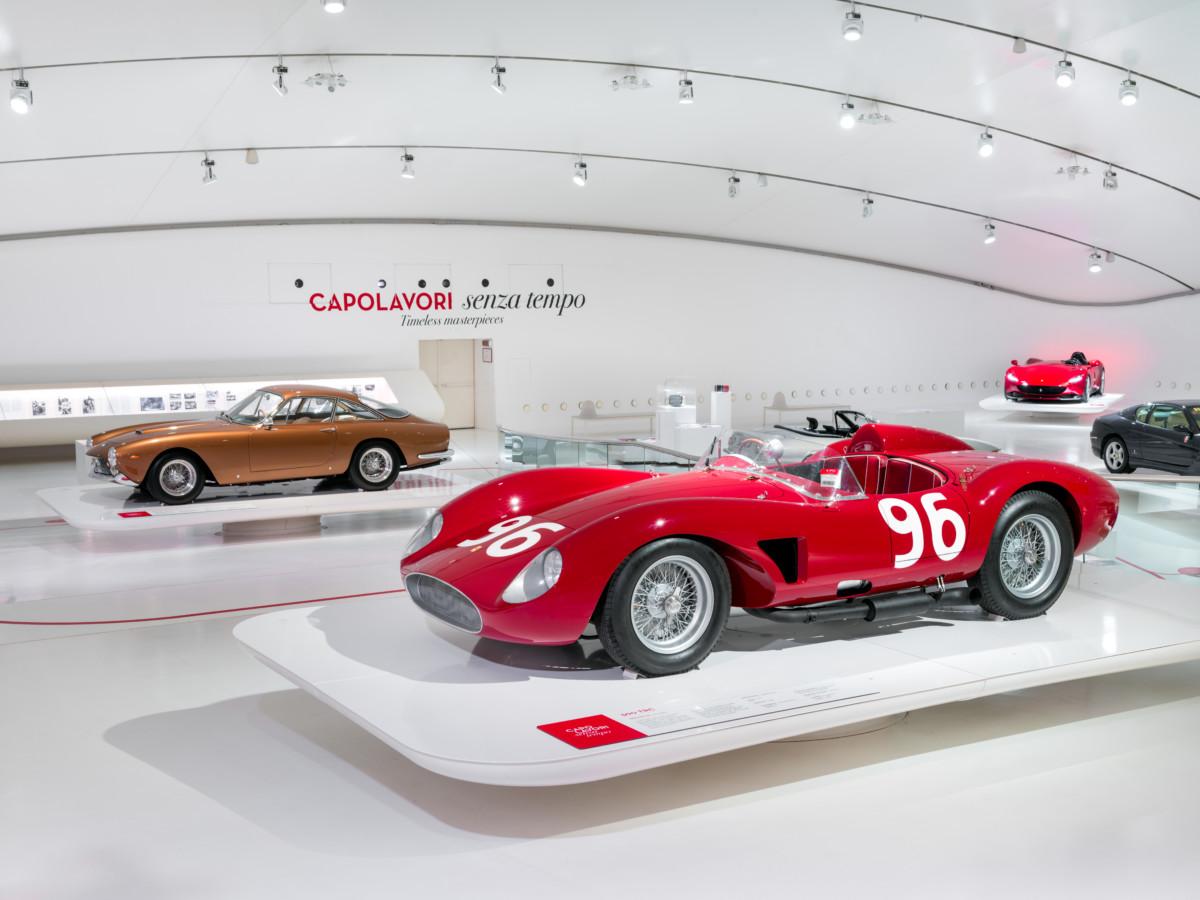 Capolavori senza tempo al Museo Enzo Ferrari