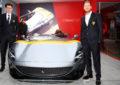 Binotto e Vettel per l'unveiling della Monza SP1 a Melbourne