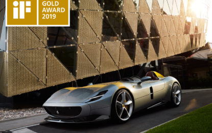 La Ferrari Monza SP1 vince l'iF Gold Award