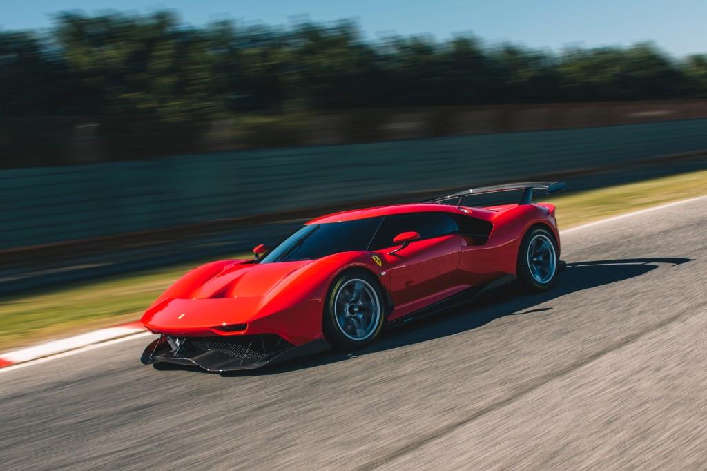Ferrari P80/C: il progetto one-off più estremo