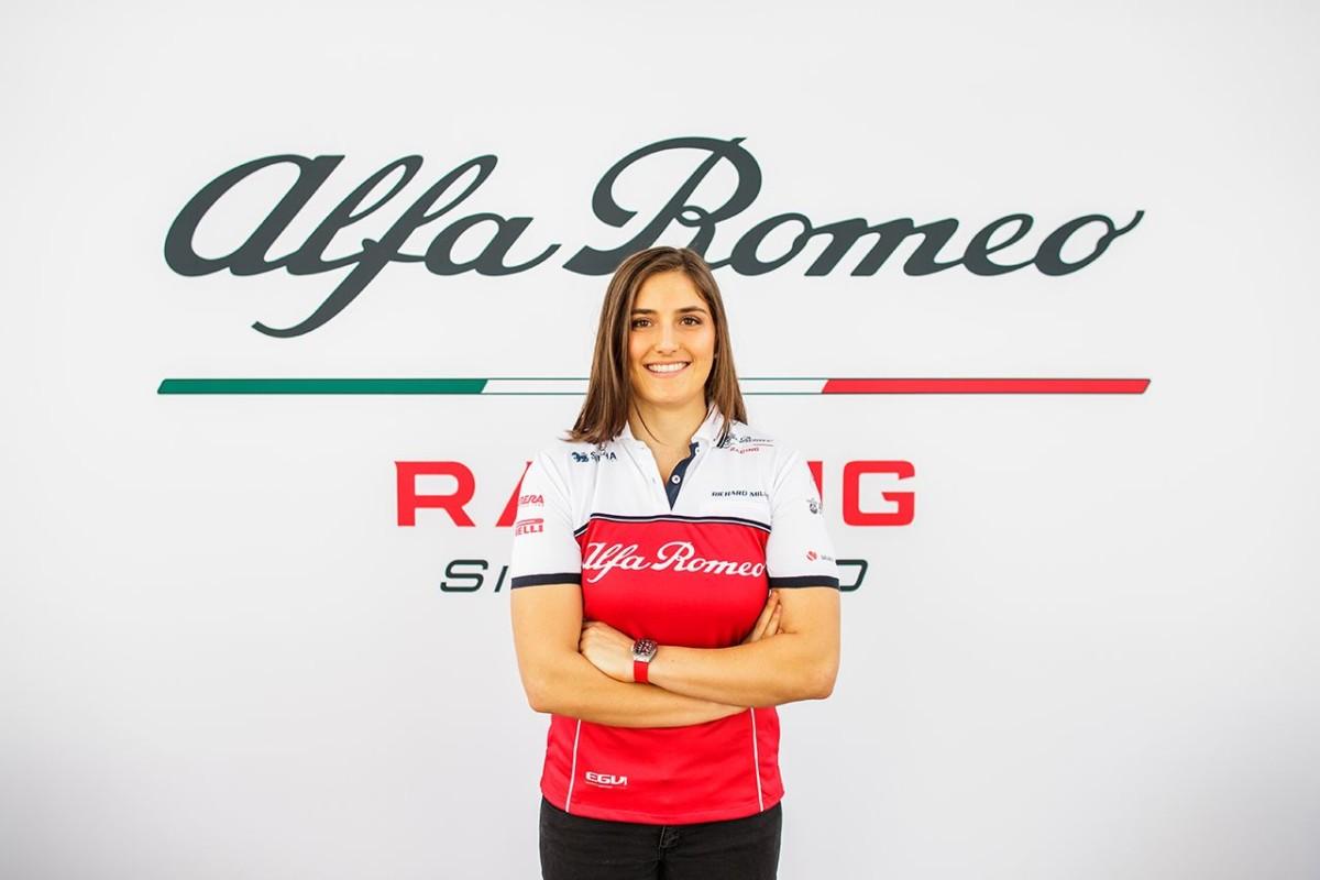 Tatiana Calderón Test Driver Alfa Romeo Racing anche nel 2019