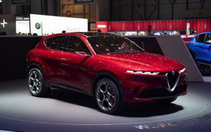 Concept car Tonale: l'elettrificazione secondo Alfa Romeo
