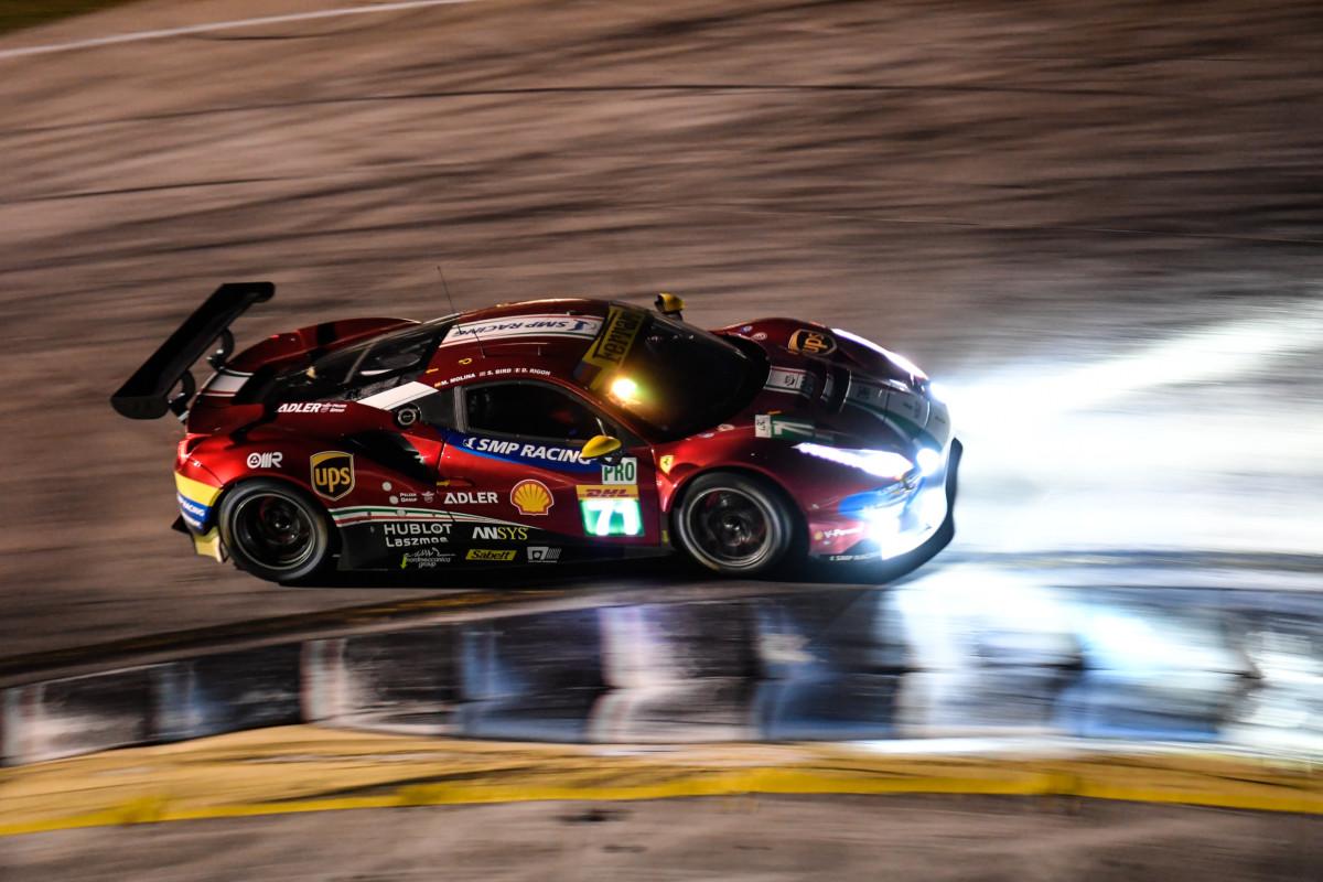 WEC: Ferrari in crescita nelle seconde libere di Sebring