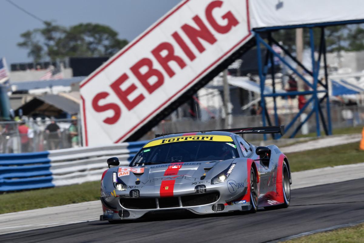 WEC: Ferrari sul podio in GTE-Am a Sebring