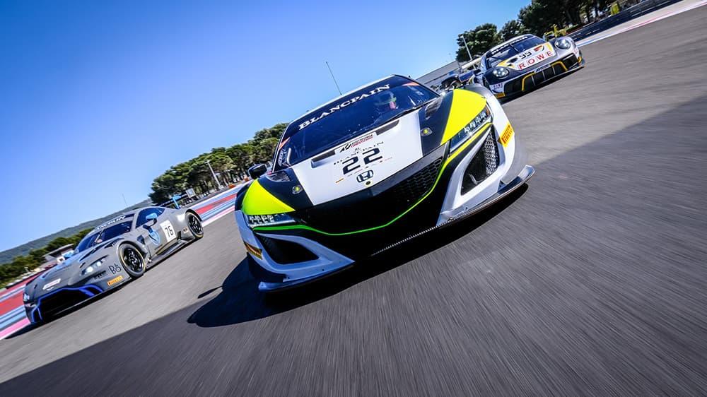 Il ritorno della Blancpain GT Series