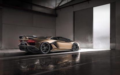 Lamborghini Aventador SVJ Roadster: debutto mondiale