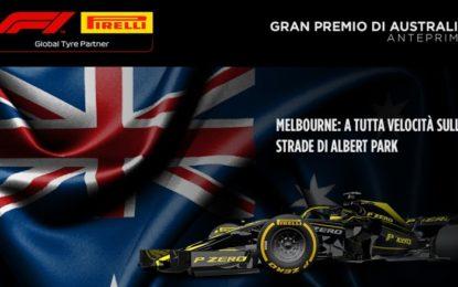 GP Australia 2019: anteprima Pirelli