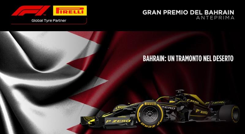Bahrain 2019: l'anteprima Pirelli