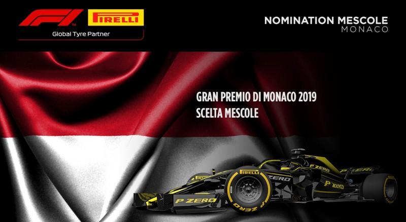 Le mescole nominate da Pirelli per Monaco 2019
