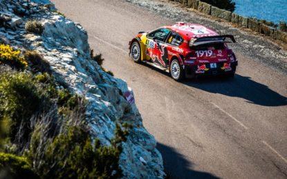 Corsica: gran recupero della C3 WRC con Ogier-Ingrassia